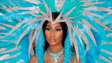 Nicki Minaj anunció su embarazo en las redes con una osada producción de fotos