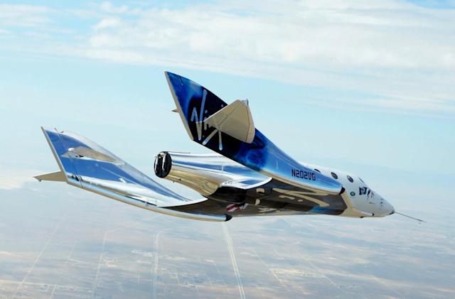 Virgin Galactic conducts a 'dry run' for rocket-powered flights