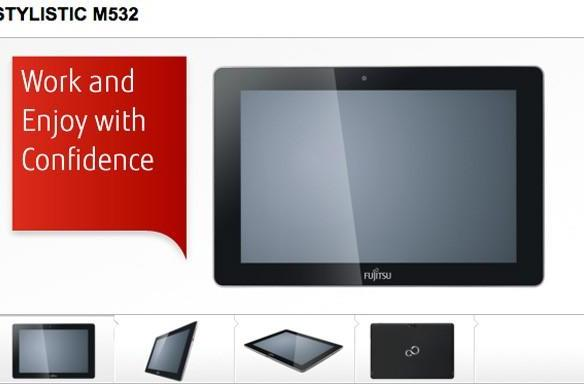 Fujitsu Stylistic M532 Android tablet cozies up to the FCC