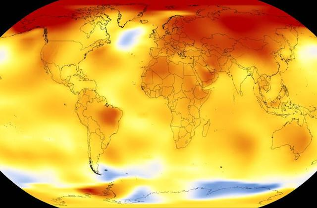 NASA: 2017 was Earth's second-warmest year since 1880