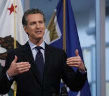 California governor encouraged by drop in ICU placements
