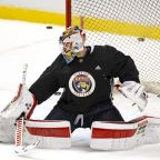 Driedger will get the opening-night start in net for Florida