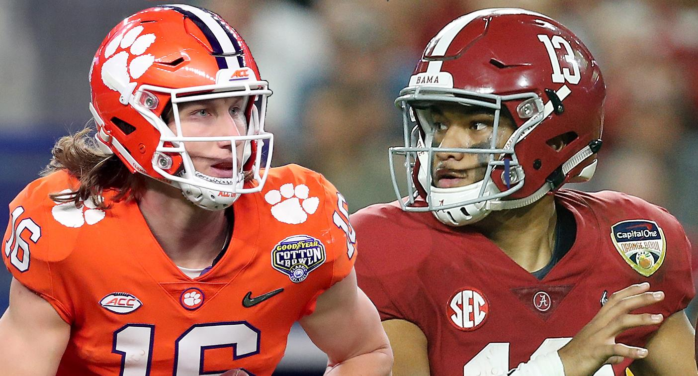 Image result for tua vs trevor lawrence