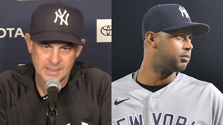 Aaron Boone defends Aaron Hicks' decision to sit