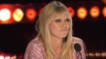 "Heidi Klum slams America's Got Talent contestant who called her ""tramp"" during their stand-up act"