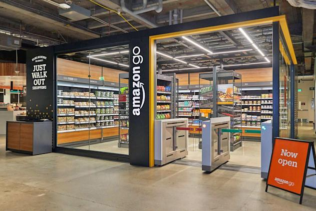 Amazon aims to open checkout-free Go stores in office lobbies