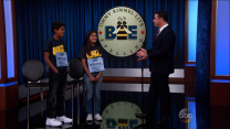 Kimmel Takes on Spelling Bee Champs
