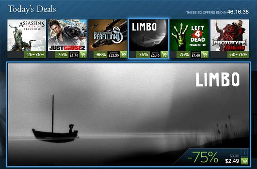 Steam Holiday Sale, day 9: Assassin's Creed, Prototype, Left 4 Dead franchises and more