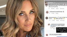 Bachelor's Georgia Love slams pregnancy rumour: 'What the actual?'