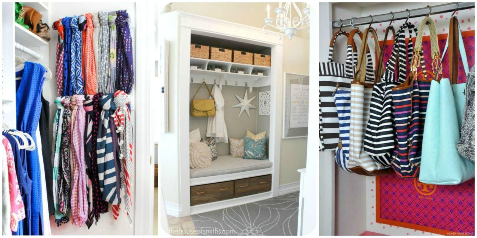 14 best ways to organize your closet for How to organize your closets