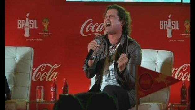 Coca-Cola World Cup anthem unveiled in Colombia