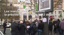 Présidentielle algérienne: manifestation devant le consulat à Paris