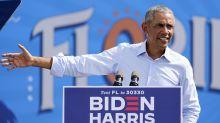 """Obama se burla de un Trump """"celoso"""" de la cobertura mediática del covid-19 y pide votar por Biden"""