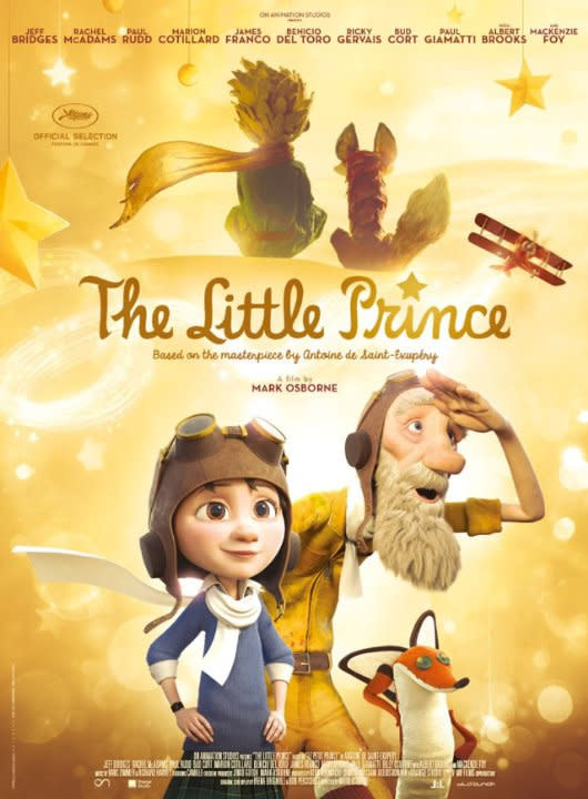 Netflix Lifts The Little Prince From Paramount S Slate