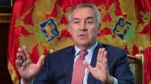 Montenegro's president accuses Serbia and Russia of undermining independence