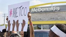 Advocacy groups join McDonald's employees to protest harassment