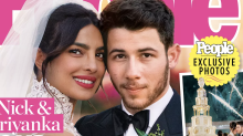 Priyanka Chopra and Nick Jonas's white wedding is what dreams are made of