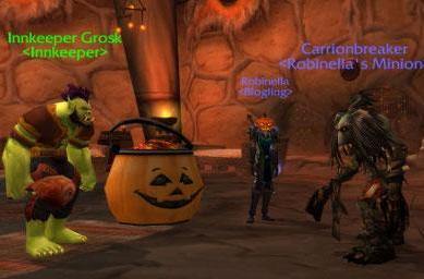 It came from the Blog: Join us for Hallow's End