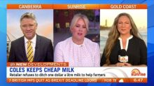 Coles and Aldi refuse to increase milk prices