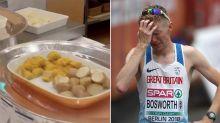 British racewalker slams 'prison-like' Olympics for serving 'cold slop,' other bad food