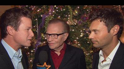 Larry King And Ryan Seacrest Show Off Their Great Friendship