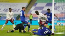 Eddie Nketiah's poaching instinct smooths Arsenal's route past Leicester