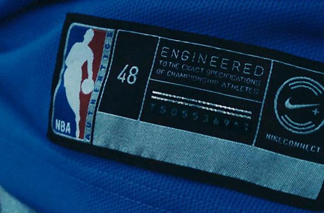 Nike's 'NBA Connected' jerseys tap into the game with NFC tags