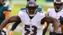 Jihad Ward becomes eighth Ravens player added to COVID-19 list this week