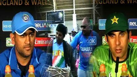 Fans excited with India & Pak match