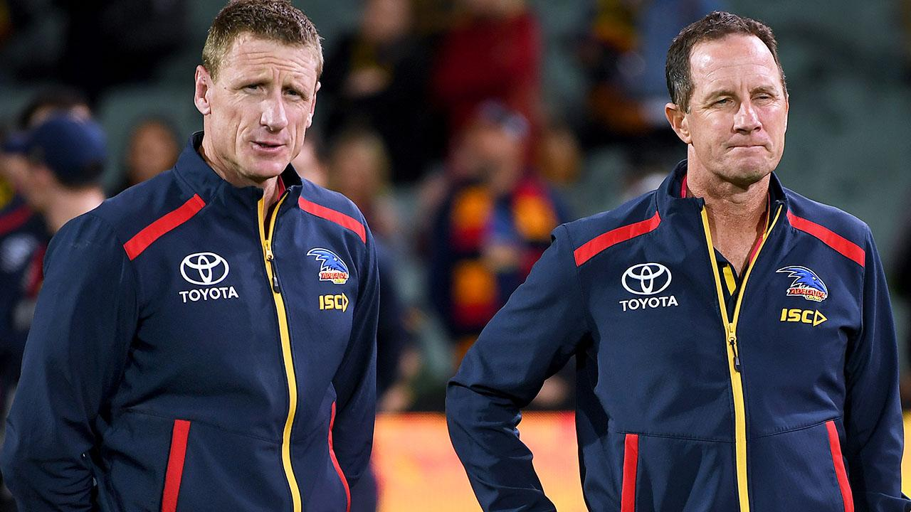 Two more sackings as Adelaide Crows complete clean-out