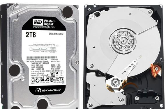 WD ships 7200RPM 2TB desktop hard drives: Caviar Black and RE4