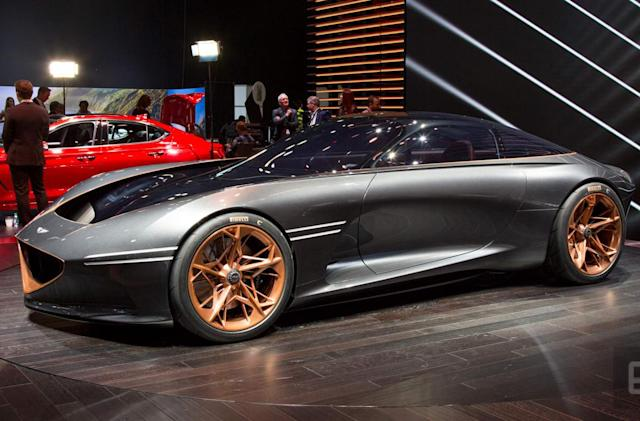 The Genesis Essentia Concept is the automotive future we were promised
