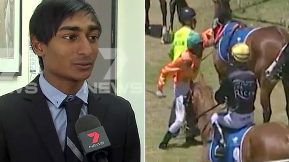 Jockey explains deplorable horse punch