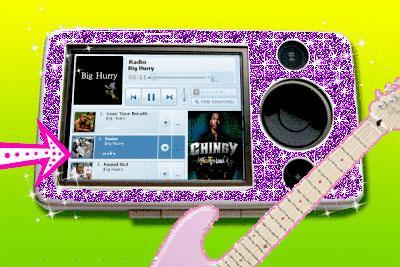 A MySpace portable audio player? (Design your own!)