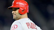 Albert Pujols' wife backtracks after writing about his upcoming 'last season' in baseball