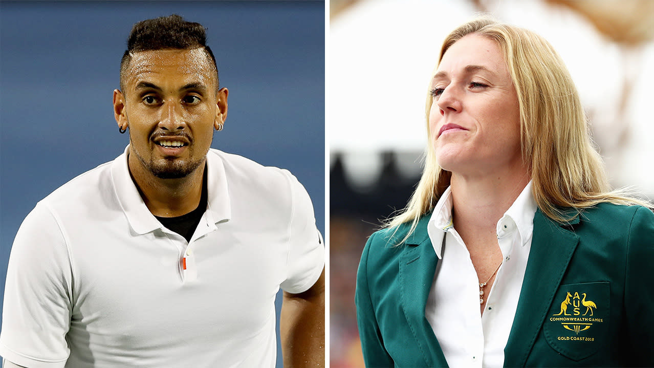 'It's disappointing': Sally Pearson blasts Nick Kyrgios after Cincinnati meltdown