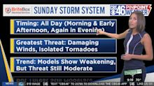 Meteorologist says she received death threats after interrupting the Masters for tornado warnings