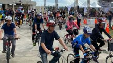 自行車》「極點慢旅」極北點登場 近千名車友民眾騎遊富貴角燈塔