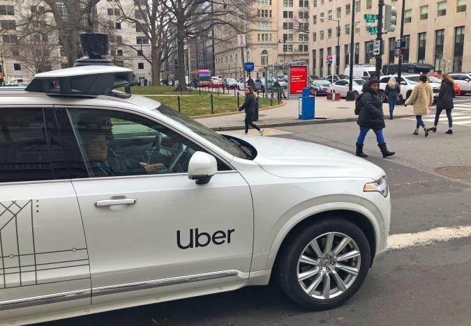 uber self-driving