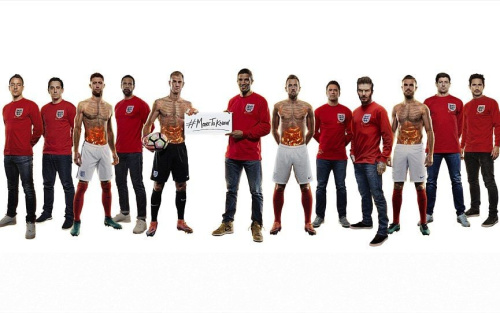 England players past and present unite for the Bobby Moore Fund