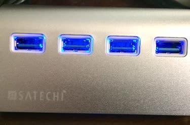 Test-driving the Satechi USB 3.0 Aluminum Hub