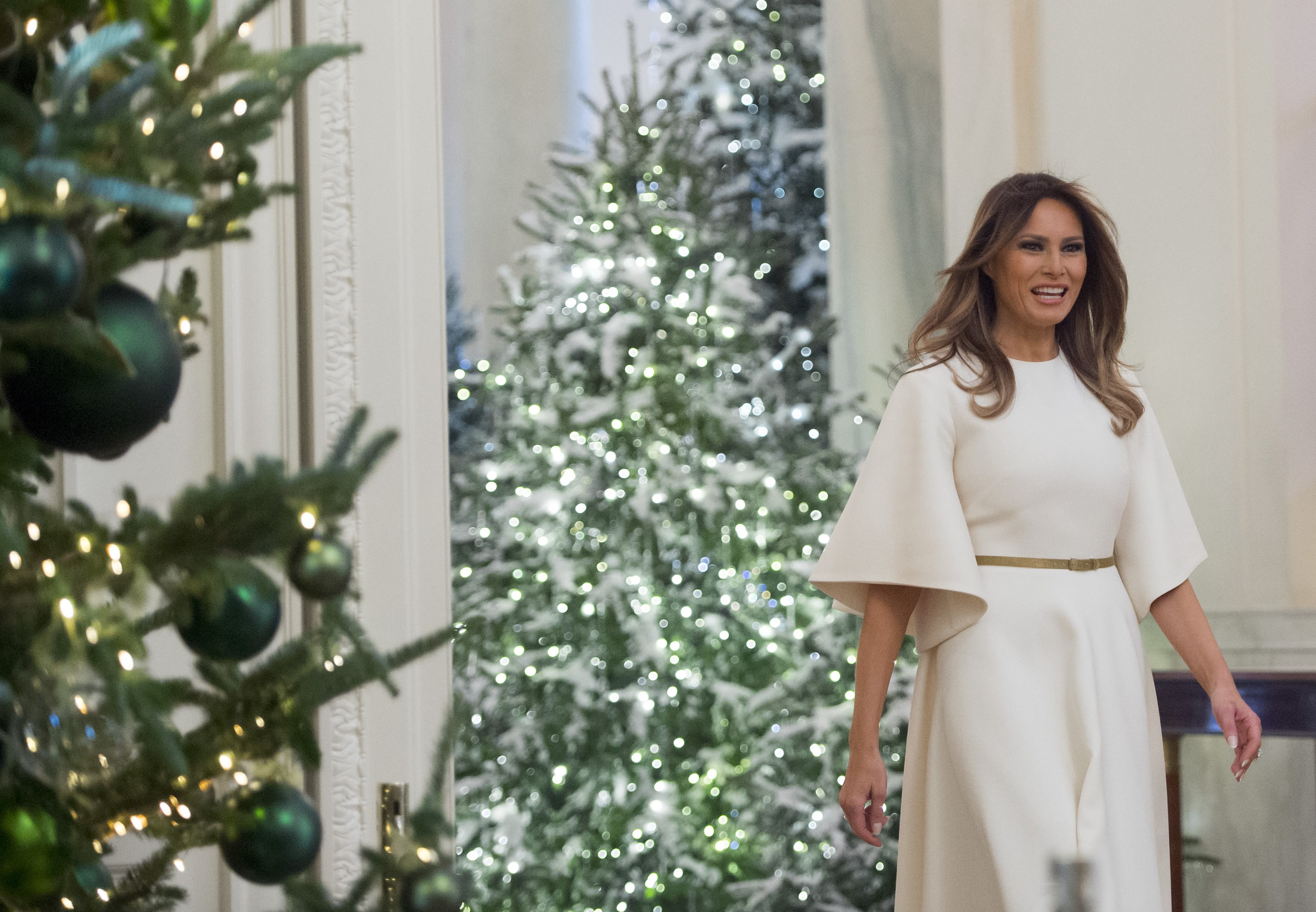 Melania Trump S Christmas Decorations At The White House