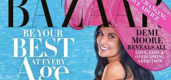 Demi Moore, 56, goes naked for Harper's Bazaar