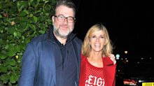 "Kate Garraway says husband Derek is ""very much still with us"""