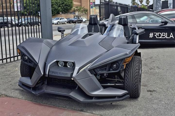 Blake Griffin Polaris Slingshot Photo