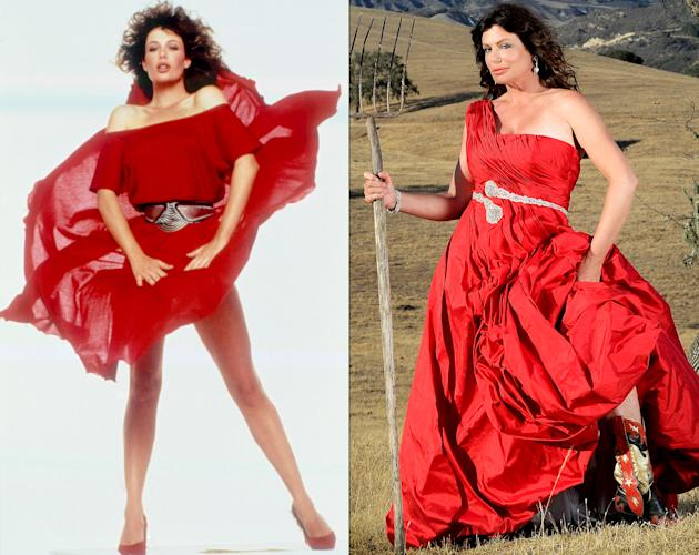 Kelly lebrock woman in red nude scene and the