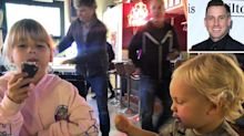 Carey Hart Wins Over Fans by Taking His Kids Out for Bar Food: 'I Was Too Tired to Cook'