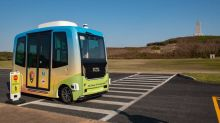 NC driverless shuttle has a new mission at Kitty Hawk's Wright Brothers Memorial