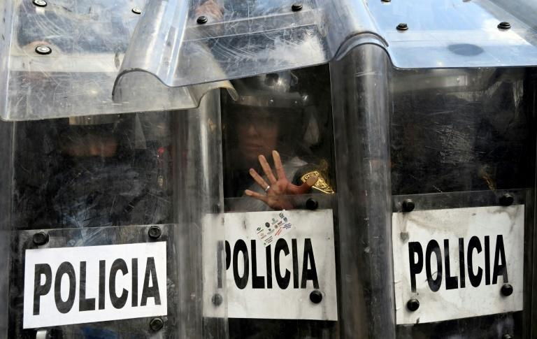 Mexican police clash with pro-abortion protesters
