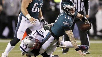 Eagles blow big opportunity vs. Pats